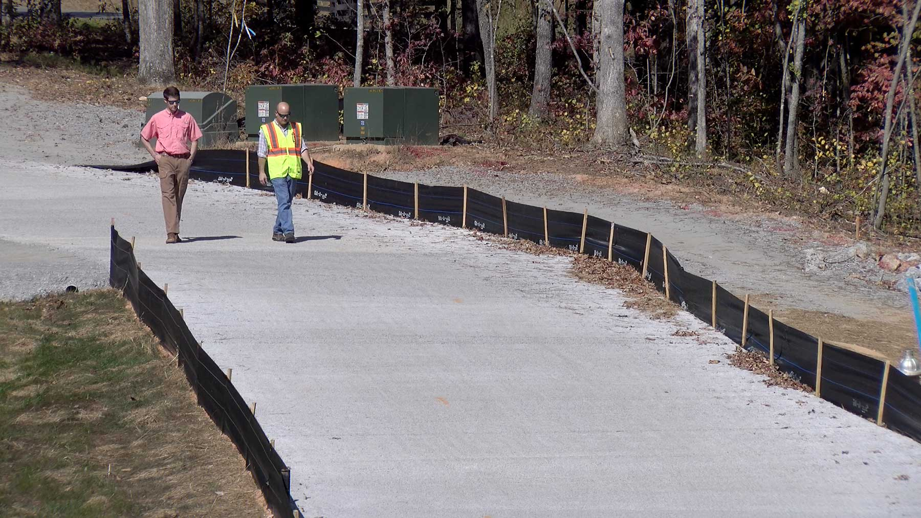 Pervious Concrete Mix Designs : Pervious concrete pavements help reduce stormwater runoff